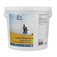 Aquablank О2. Активный кислород в гранулах 5 кг. Химия для бассейна Chemoform (Fresh Pool)