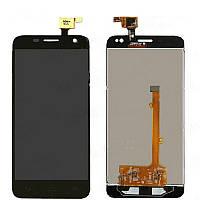 Дисплей (LCD) Alcatel Idol mini 6012D + touchscreen black orig