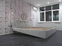 Кровать для спальни с мягкой спинкой