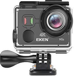 Экшн-камера EKEN H5s Black с электронной стабилизацией изображения EIS