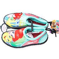 Детская обувь для плавания аквашузы Принцессы (Princess) для девочки размеры 24-34 ТМ ARDITEX WD11982, фото 1