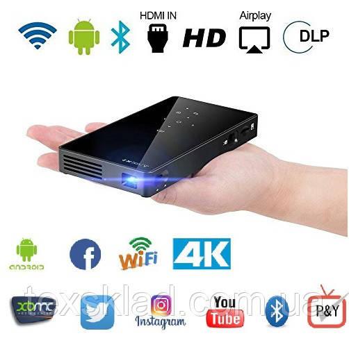 SMART Проектор P8 с аккумулятором (Wi-Fi/Bluetooth/Android)