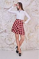 Женская юбка-трапеция