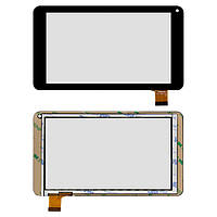 Сенсорный экран Bravis NB70 черный (тачскрин, стекло в сборе)
