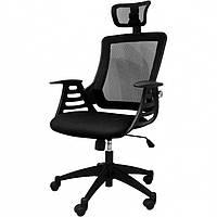 Кресло эргономичное MERANO headrest, Black Office4You