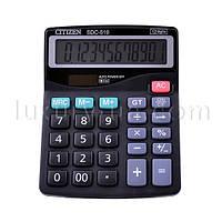 Калькулятор бухгалтерский CITIZEN 519,  двойное питание