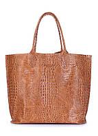 Кожаная сумка POOLPARTY Amphibia, фото 1