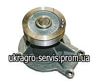 Водяной насос (помпа)  КАМАЗ ЕВРО-3 (со шкивом), 740.63-1307010