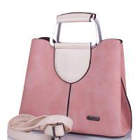 Саквояж (ридикюль) ETERNO Женская сумка из качественного кожезаменителя ETERNO (ЭТЕРНО) ETK862-pudra, фото 1