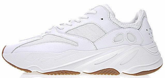 Женские кроссовки adidas Yeezy 700 Boost White Gum (Адидас Изи Буст) белые