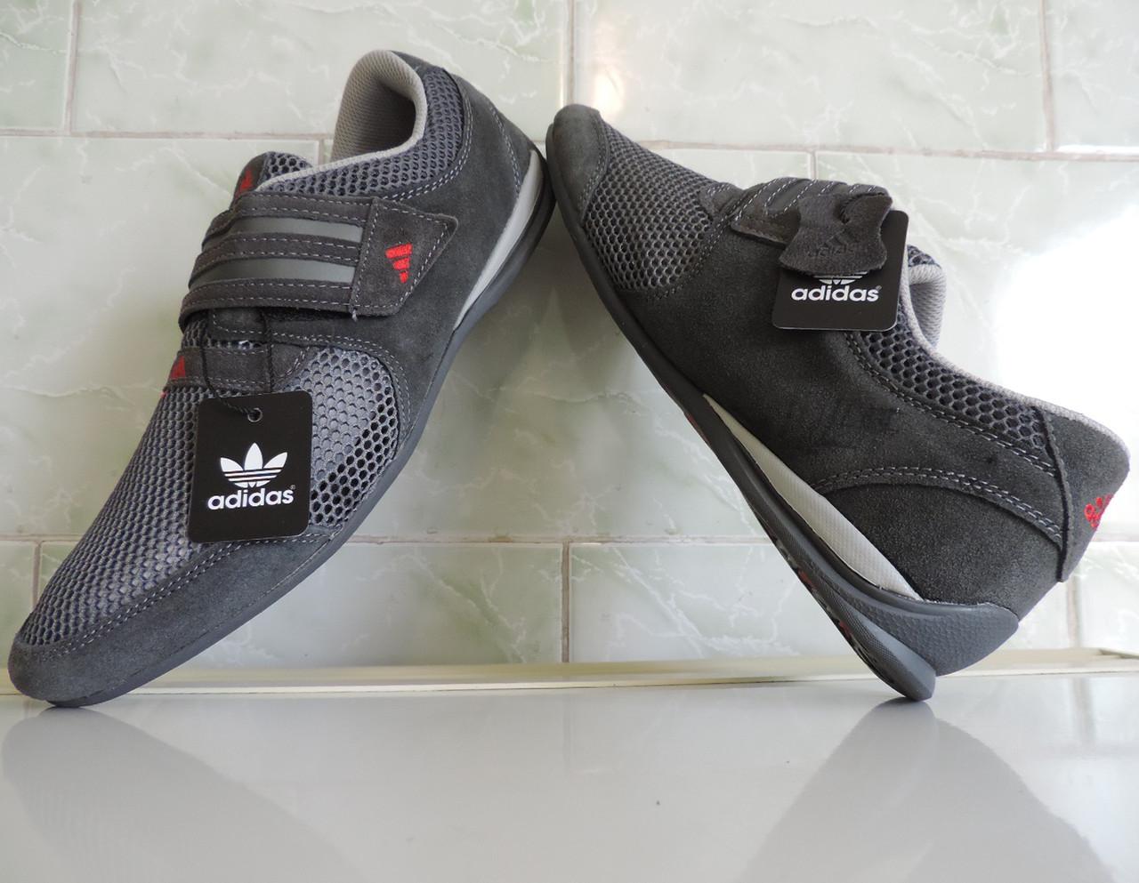 9bcb5c1e ... Фирменные кожаные кроссовки мужские летние Adidas Originals Daroga,  реплика, ...