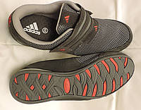 Фирменные кожаные кроссовки мужские летние Adidas Originals Daroga.