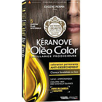 Стойкая Краска без Аммиака  5 Светлый ШатенОлеоколор Oleo Color , Светлый Шатен, 125 мл, фото 1