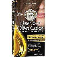 КЕРАНОВ  Keranove   Краска для волос  Олеоколор №6*3Светлый Шатен Золотистый, фото 1