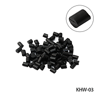 Кератин KHW-03 в гранулах, цвет — черный (5г в пак),