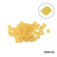 Кератин KHW-05 в гранулах, цвет — желтый (5г в пак)