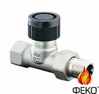 Термостатический вентиль Oventrop серии A проходной Ду15