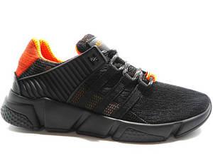 Туфлі чоловічі Adidas ( Репліка) A-1 чорний * 13070