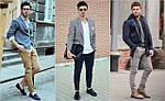 Как создать мужской образ в стиле smart casual?