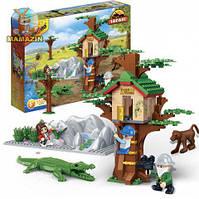 Конструктор Банбао домик на дереве