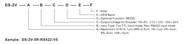 Двухкоординатное устройство цифровой индикации DS-2V компании DELOS