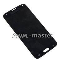 Дисплей Samsung G900H,Galaxy S5 с сенсором. черный. Оригинал
