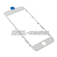 Рамка со стеклом и OCA клеем для дисплея Apple iPhone 6 4.7 белый Оригинал