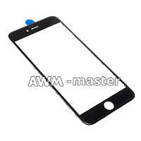 Рамка со стеклом и OCA клеем для дисплея Apple iPhone 6+ 5.5 черный Оригинал