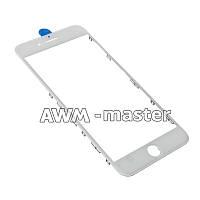 Рамка со стеклом и OCA клеем для дисплея Apple iPhone 7+ 5.5 белый Оригинал