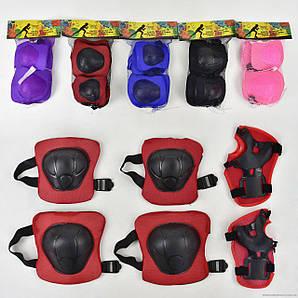 Защита детская для роликов M Красная (2T6011)