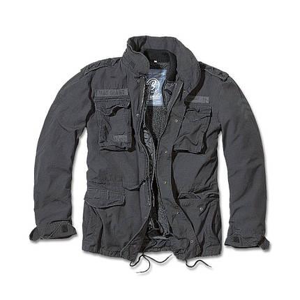 Демисезонная мужская куртка Brandit M-65 Giant BLACK, фото 2