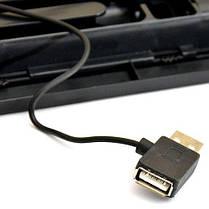 Охлаждающая подставка для ноутбука DeTech N19, фото 3