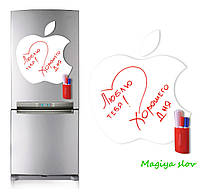 Магнитно - маркерная доска Apple, маркерная доска Эпл