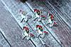 """Кабошон - подвеска """"Единорог В """" 2,8 х 2.6 см, 25 шт/уп. оптом"""