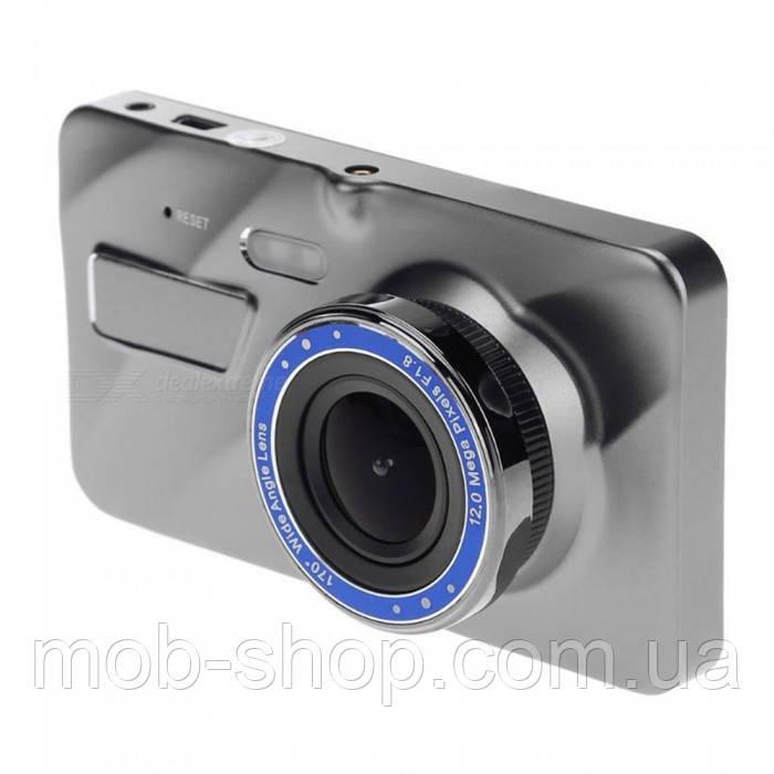 """Автомобильный видеорегистратор DVR A10 4"""" Full HD с выносной камерой заднего вида"""
