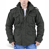 Демисезонная мужская куртка Surplus Regiment M 65 Jacket Schwarz Ge, фото 3