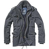 Демисезонная мужская куртка Brandit M65VoyagerWoolJacketAnthracite