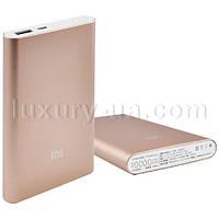 Power Bank Внешний аккумулятор для телефона MI Slim 10000mAh USB(2A), индикатор заряда -137 (4000)