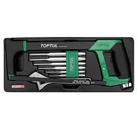 Набор инструмента комбинированный (в ложементе)  TOPTUL GCAT0801