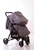 Детская прогулочная коляска Quattro Porte QP-234 Grey