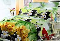 1,5-спальный комплект постельного белья  HL128