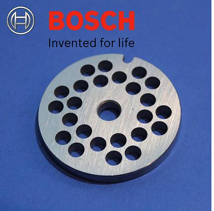 Решетка (сито) для мясорубки BOSCH 4.5 мм, фото 2