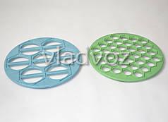 Две формы варенница, вареничница для вареников + пельменница для пельменей из пластика