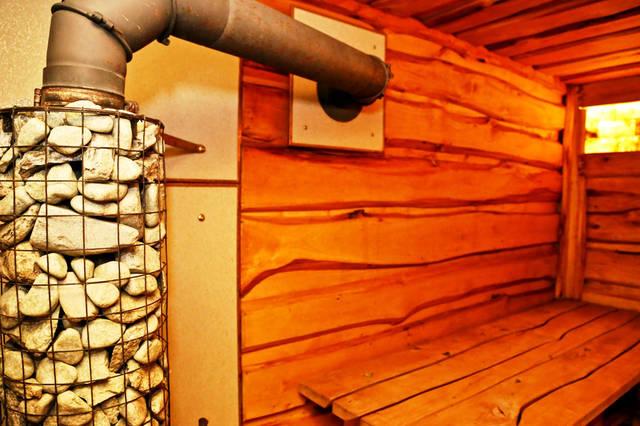 Подключение и выведение горячих труб.