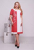 """Красивое женское платье """"Лен"""""""