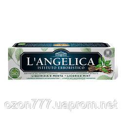 Зубная паста Langelica Сладкая и мята 75 ml