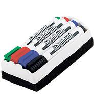 """Набор маркеров с губкой для доски """"BuroMax BM8800-84"""""""