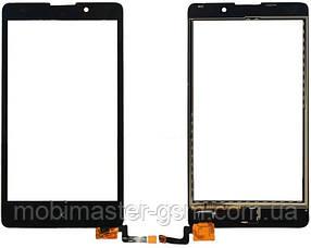 Тачскрин NOKIA XL (RM-1030) DUAL SIM orig черный