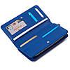 Женский кошелек кожаный синий Eminsa 2151-18-15, фото 5