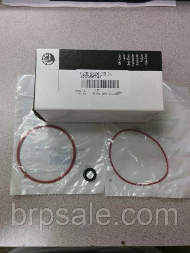 Уплотнитель крышки масляного фильтра тонкий BRP